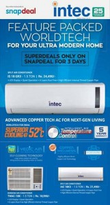 Intec Window and Split Ac
