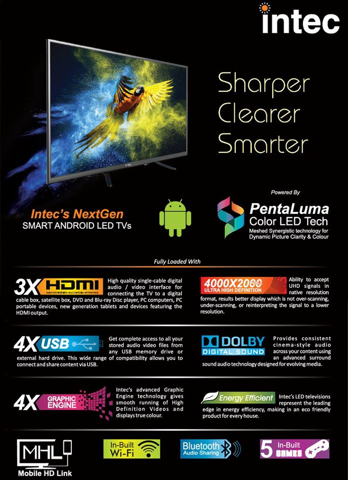 Intec Smart Android LED TV