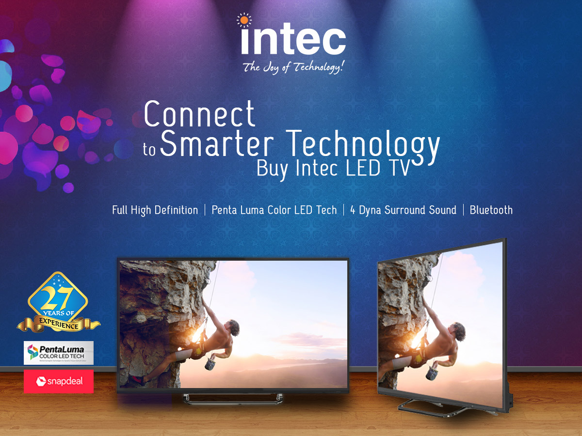 Intec HD LED TV